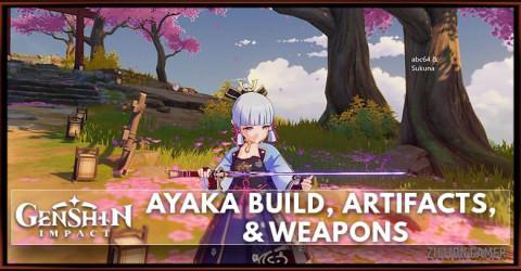 Ayaka Build, Weapons, & Artifacts