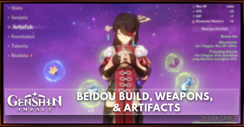 Beidou Build, Weapons, & Artifacts