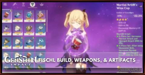 Fischl Build, Weapons, & Artifacts