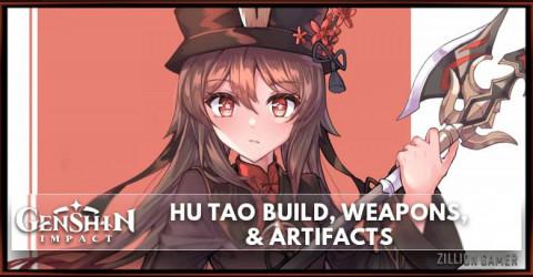 Hu Tao Build, Weapons, & Artifacts