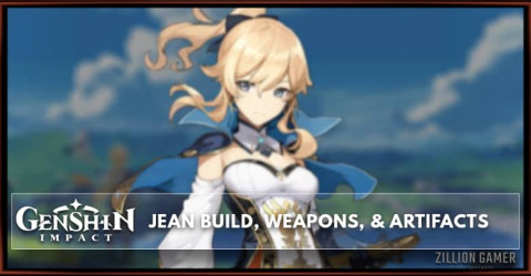 Jean Build, Weapons, & Artifacts