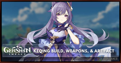 Keqing Build, Weapons, & Artifacts