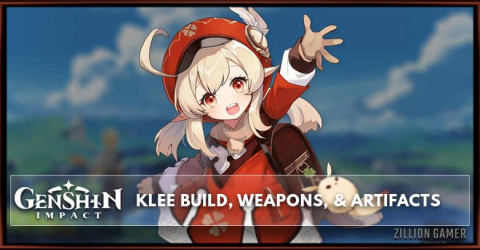 Klee Build, Weapons, & Artifacts
