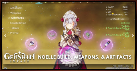 Noelle Build, Weapons, & Artifacts