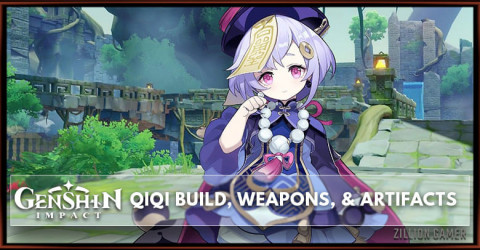 Qiqi Build, Weapons, & Artifacts