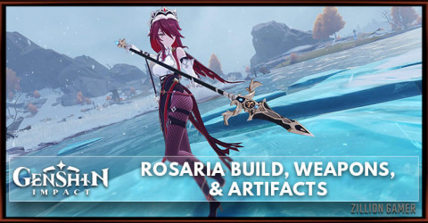 Rosaria Build, Weapons, & Artifacts
