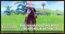 Kaedehara Kazuha Build, Weapons, & Artifacts