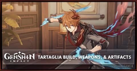 Tartaglia Build, Weapons, & Artifacts