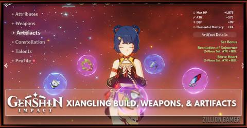 Xiangling Build, Weapons, & Artifacts