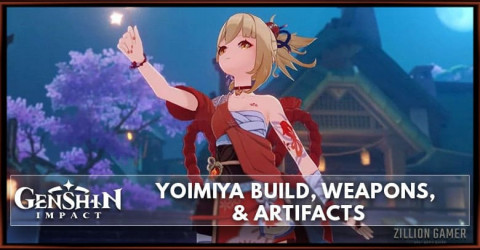 Yoimiya Build, Weapons, & Artifacts