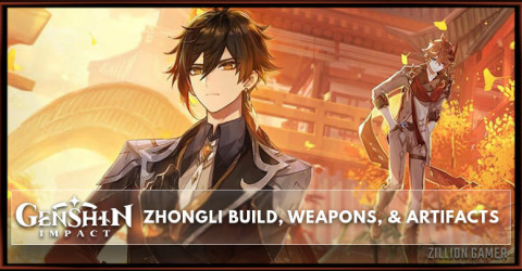 Zhongli Build, Weapons, & Artifacts