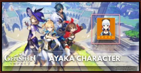 Ayaka Tier, Telents, & Ascension