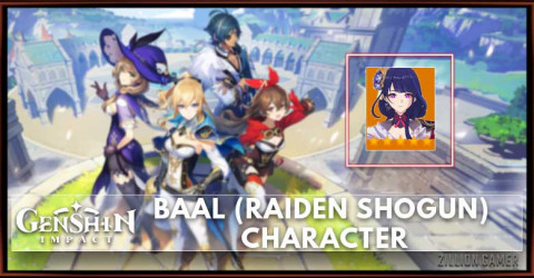 Baal (Raiden Shogun) Skills, Constellation, Talents, & Ascension Materials