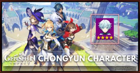 Chongyun Tier, Talents, & Ascension