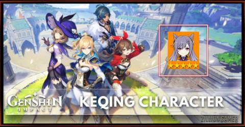 Keqing Tier, Talents & Ascension