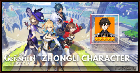 Zhongli Tier, Talents, & Ascension