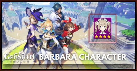 Barbara Tier, Talents, & Ascension