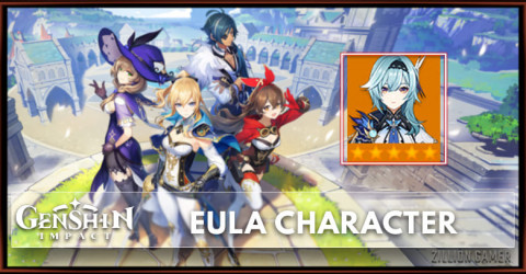 Eula Skills, Constellation, Talent, & Ascension Marterial