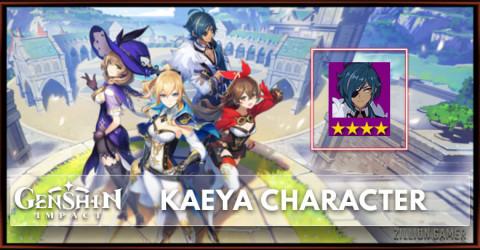Kaeya Tier, Talents & Ascension