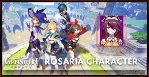 Rosaria Skills, Constellation, Talent, & Ascension Marterial