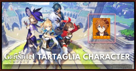 Tartaglia Tier, Talents & Ascension