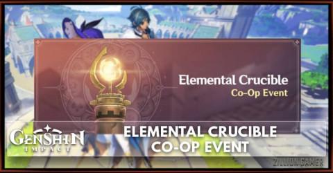 Genshin Impact Elemental Crucible - Co-op Event