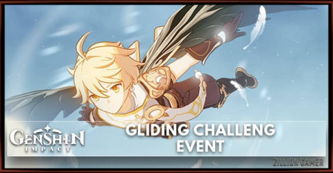 Genshin Impact Gliding Challenge Event