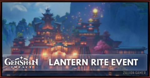 Genshin Impact Lantern Rite Event