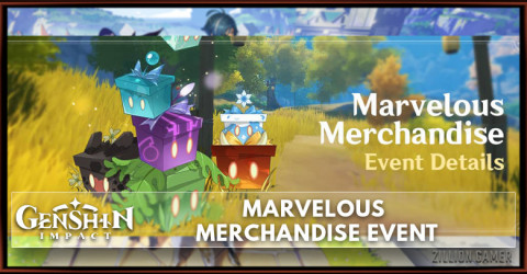 Genshin Impact Marvelous Merchandise Event