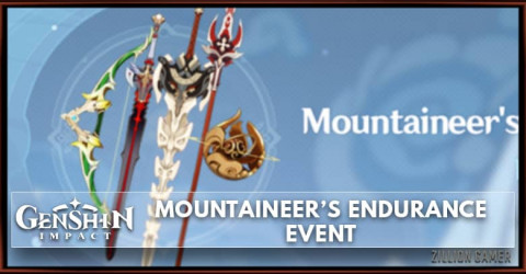 Genshin Impact Mountaineer's Endurance Event