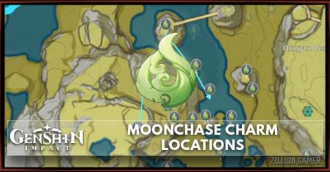 Genshin Impact Moonchase Charm All Location Map