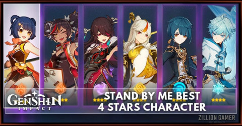 Genshin Impact Stand By Me Best 4 star Character