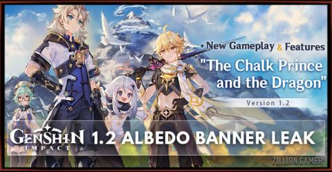 Albedo Banner And Weapon Banner Leak Genshin Impact 1.2