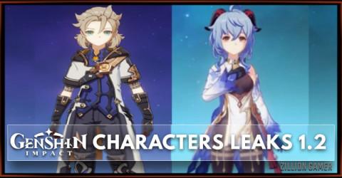 Genshin Impact Characters Leaks 1.2