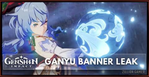Ganyu Banner Genshin Impact 1.2