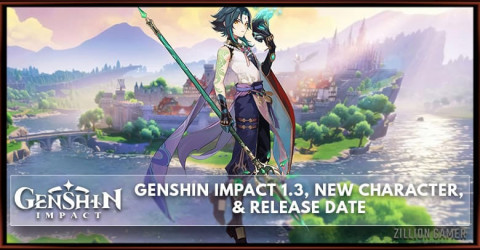 Genshin Impact 1.3 Leaks, New Character, and Release Date