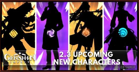 Genshin Impact 2.3 Upcoming New Characters