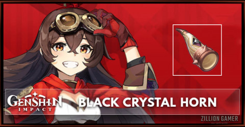Black Crystal Horn