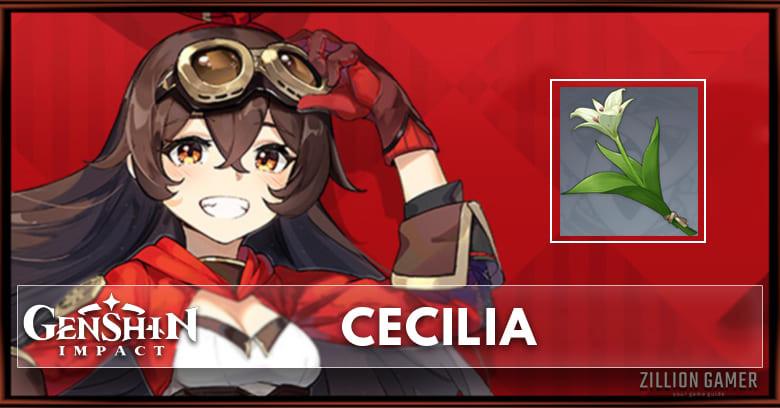 Cecilia Location Location Genshin Impact Zilliongamer