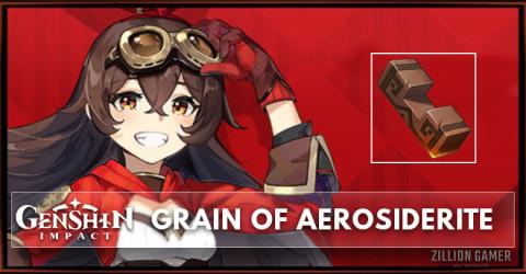 Grain of Aerosiderite