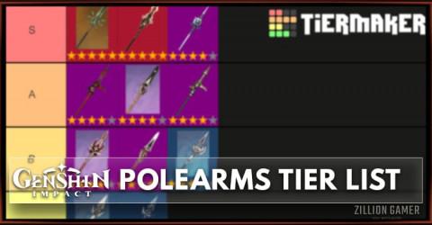 Best Polearm in Genshin Impact Tier List [Version 1.2]