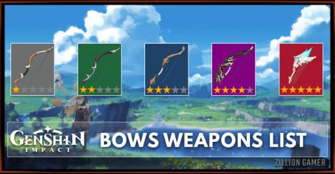 Bows List