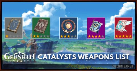 Catalysts List