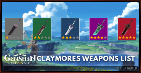 Claymores List