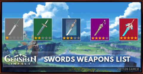 Swords List