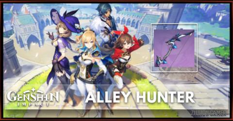 Alley Hunter Stats, Passive Ranks, & Ascension