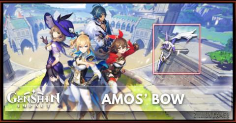 Amo's Bow Stats, Passive Ranks, & Ascension