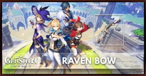 Raven Bow Stats, Passive Ranks, & Ascension