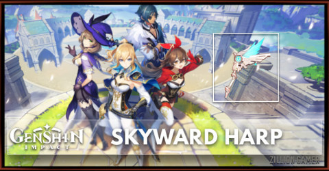 Skyward Harp Stats, Passive Ranks, & Ascension