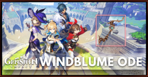 Windblume Ode Stats, Passive Ability, & Ascension